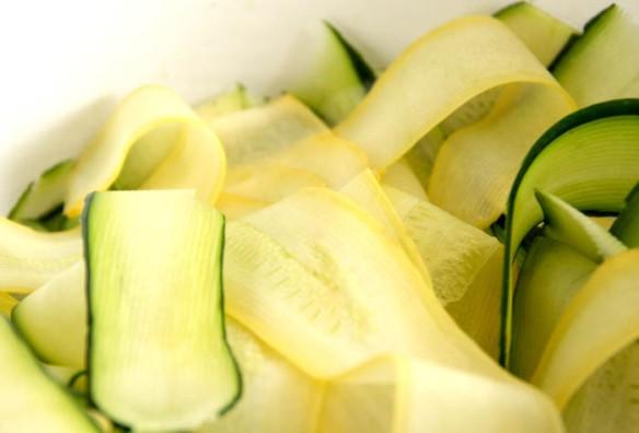 "Zucchini ""ribbons"""